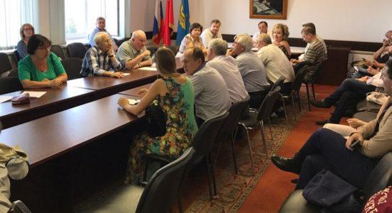 Общественная палата города Жуковский намерена работать совместно с Советом депутатов