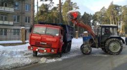 Снег в Жуковском убирается благодаря инспекторам Госадмтехнадзора