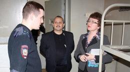 Правозащитники посетили изолятор временного содержания в Жуковском