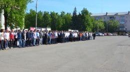 В Жуковском стартовали военно-учебные сборы
