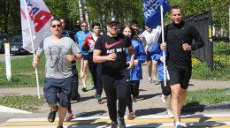 Юрий Борзаковский принял участие в акции «73 километра Победы» в Жуковском