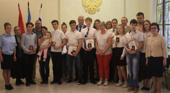 В Жуковском состоялась церемония вручения общегражданского паспорта