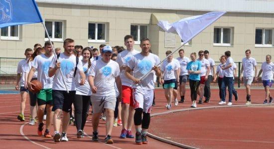 На стадионе «Метеор» в Жуковском прошла студенческая спартакиада