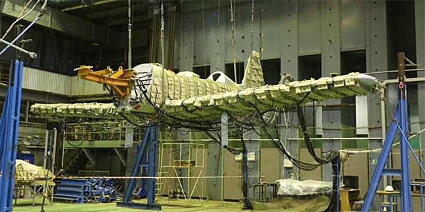В Жуковском завершились статические испытания Як-152