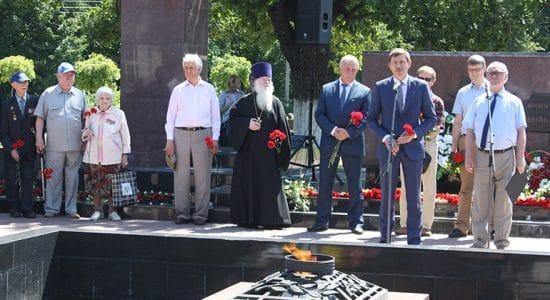 В Жуковском зажгли свечи памяти
