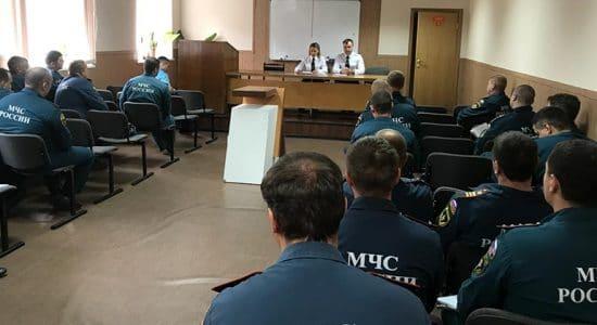 В Жуковском сотрудникам противопожарной службы напомнили о ПДД