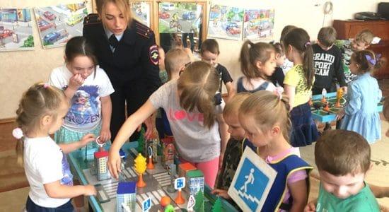 Полицейские города Жуковский провели интерактивное занятие в детском саду