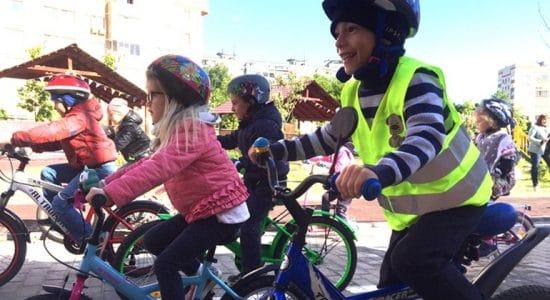 В детском саду № 35 города Жуковский состоялся велопробег