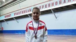 Жуковская бадминтонистка завоевала две медали на юниорском первенстве Европы