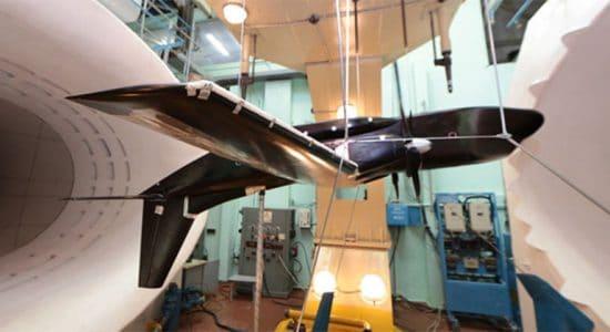 В Жуковском провели исследования по защите легкого конвертируемого самолета от обледенения