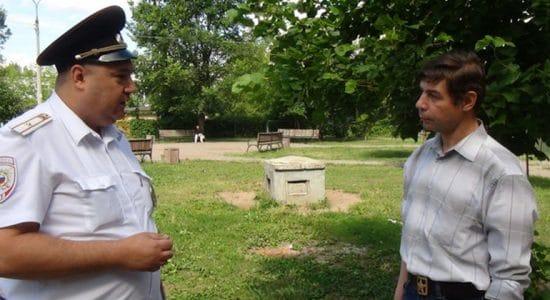 Жители города Жуковский не заинтересовались отчетами участковых