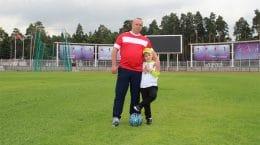 Полицейские города Жуковский присоединились к акции «Наша семья, наш футбол»
