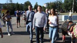 Город Жуковский отметил 71-летие