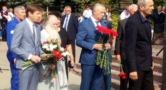 В Жуковском состоялся траурный митинг по случаю годовщины террористического акта в Беслане