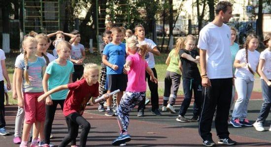 Полицейские в Жуковском организовали спортивный праздник для детей