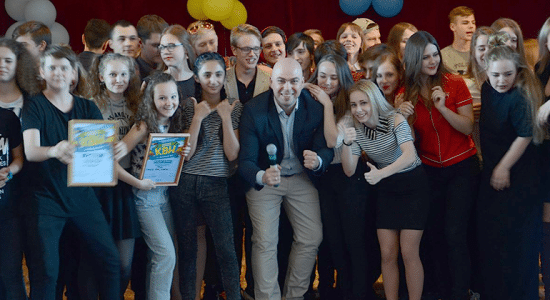Команда КВН из Жуковского «Без понтов» выступила в 1/2 финала региональной лиги КВН