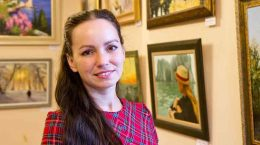 В галерее «LINE ART» работает выставка живописи Анны Самойлович