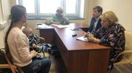 Депутат Госдумы Лидия Антонова провела прием жителей города Жуковский