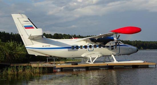 В Жуковском разработали гидродинамическую компоновку поплавкового шасси для самолета L-410