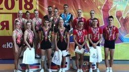 Юные спортсмены из Жуковского отличились на первенстве по спортивной аэробике в Москве
