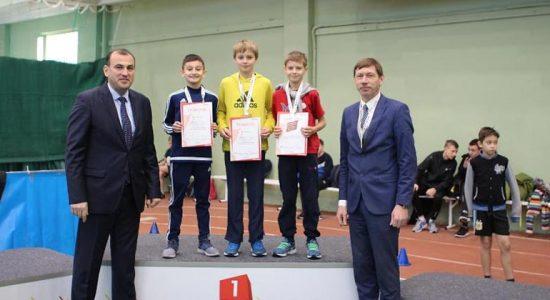 В Жуковском состоялись детско-юношеские соревнования «Бал олимпийцев»