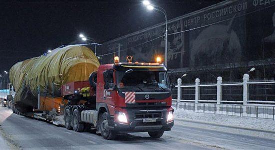 В Жуковский для испытаний доставлен фюзеляж военно-транспортного самолета Ил-112В