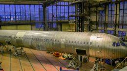 В ЦАГИ доставлен фюзеляж МС-21 для ресурсных испытаний