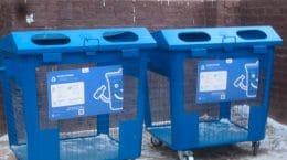 В Жуковском установили 33 новых контейнера для раздельного сбора мусора