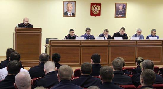 В полиции города Жуковский подвели итоги работы за 2018 год