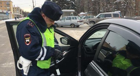 С 21 по 27 января госавтоинспекторы в Жуковском проведут два рейда