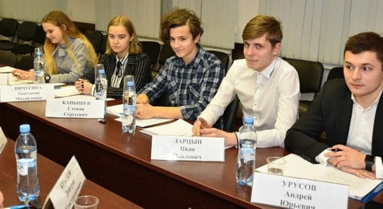 Состоялось первое в новом году заседание Молодежного парламента города