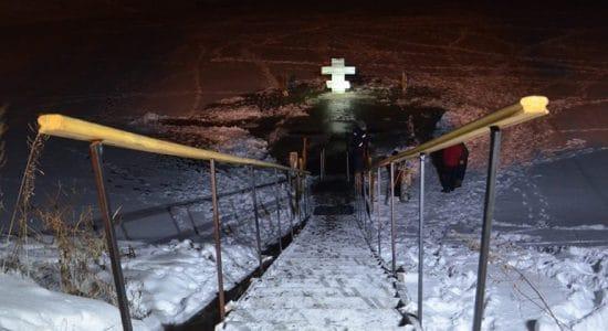 Жуковчан попросили не употреблять алкоголь перед крещенским купанием