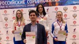 Мария Иванова из Жуковского оказалась лучшей на чемпионате России по стрельбе из пневматики