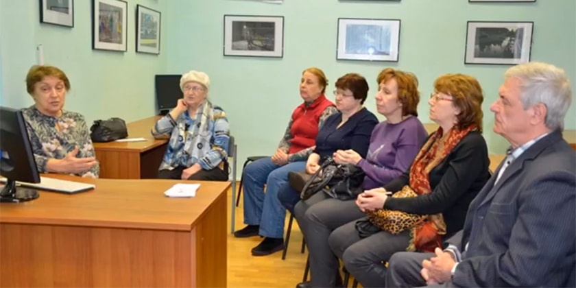 Врач-кардиолог Инной Телкова рассказала о стрессе в читательном зале городской библиотеки
