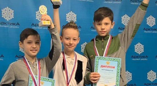 Юный спортсмен из Жуковского стал победителем первенства по фигурному катанию Ленинского района