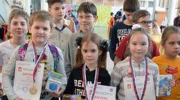 Жуковчане успешно выступили на 1-м этапе детского Гран-при Москвы по Го