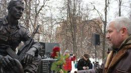В Жуковском открыли бронзовый памятник погибшим воинам в Афганистане
