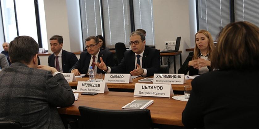 ЦАГИ посетила делегация Минобрнауки России