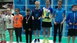 Бадминтонисты СШ «Метеор» из Жуковского вернулись с международного турнира с медалями