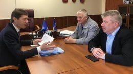Игорь Марков обсудил с дирекцией спорткомплекса «Метеор» состояние детского спорта в Жуковском