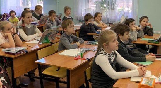 В Жуковском с учениками 3-х классов провели акцию «Береги себя»