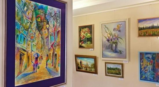 В галерее LINE ART открылась выставка «Точка отсчета»