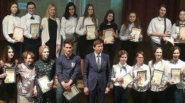 В лицее № 14 наградили победителей олимпиады школьников