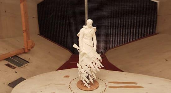 В ЦАГИ испытали новый монумент Советскому солдату