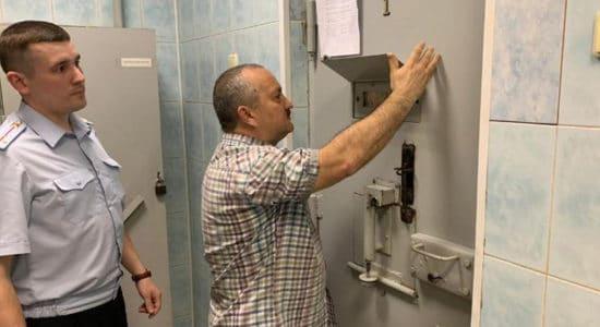 В Жуковском проверили соблюдение прав лиц, помещенных в полицейский изолятор