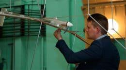 В Жуковском испытали беспилотник на солнечной энергии