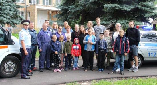 В Жуковском провели «День безопасности» для воспитанников детского санатория