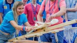 Молодые специалисты ЦАГИ провели «Аэрокосмический факультет» на форуме «Инженеры будущего-2019»