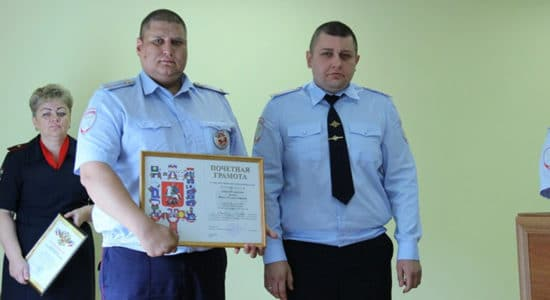 Полиция города Жуковский подвела итоги деятельности за 1 полугодие