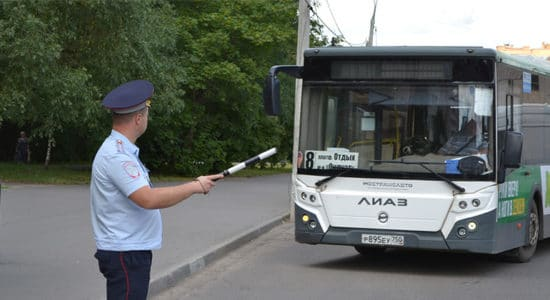 """Госавтоинспекторы в Жуковском проведут рейд """"Автобус"""" с 8 по 14 июля"""